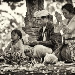 Balinese Family Time